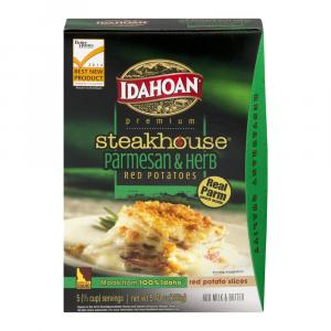 Idahoan Steakhouse Parmesan & Herb Potatoes