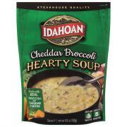 Idahoan Premium Steakhouse Cheddar Broccoli Potato Soup