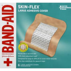 Band-Aid Skin-Flex Large Adhesive Cover