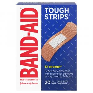 Band-Aid All One Size Tough Strips