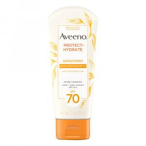 Aveeno Protect & Hydrate Lotion Sunscreen Spf 70