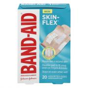 Band-Aid Skin Flex Bandages
