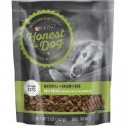 Purina Honest to Dog Natural + Grain-Free Crispy Cuts Beef