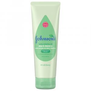 Johnson & Johnson's Aloe Vera & Vitamin E Creamy Oil