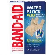 Band-Aid Water Block Flex Knuckle & Fingertip