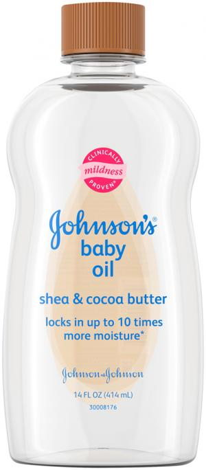 Johnson's Shea & Cocoa Butter Baby Oil