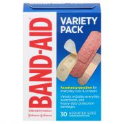 Bandaid Variety Pack Assorted Sizes