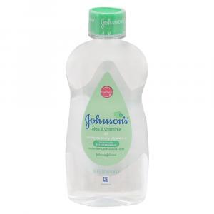 Johnson & Johnson's Baby Oil w/Aloe & Vitamin E