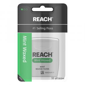 Johnson & Johnson Reach Floss Mint Waxed