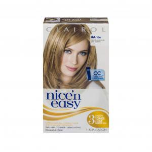 Nice'n Easy #106 Natural Medium Ash Blonde Hair Color Kit