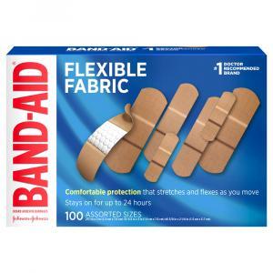 Band-aid Flexible Fabric Assorted Bandages