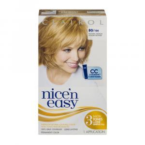 Nice'n Easy #104 Natural Medium Golden Blonde Hair Color Kit
