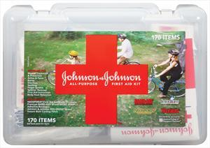 Johnson's Ready Organized 150-piece First Aid Kit