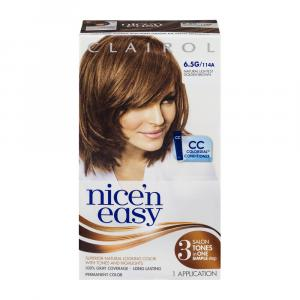 Nice'n Easy #114a Natural Light Golden Brown Hair Color Kit