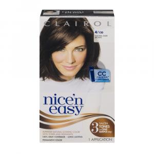 Nice'n Easy #120 Natural Dark Brown Hair Color