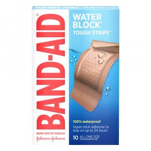 Band-Aid Waterproof Extra Large Tough Strips