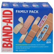 Band-Aid Family Pack Assorted Sizes & Protection