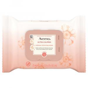 Aveeno Ultra Calm Makeup Removing Wipes
