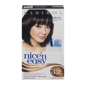 Nice'n Easy #121a Natural Darkest Brown Hair Color Kit