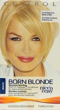 Clairol Nice'n Easy Born Blonde Maxi Hair Color Kit
