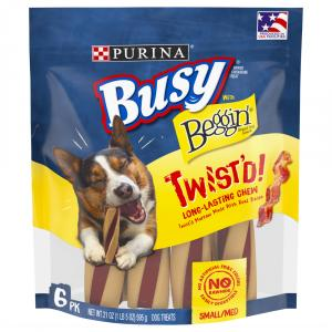 Purina Busy and Beggin Twist'd Small and Medium Dog Treat