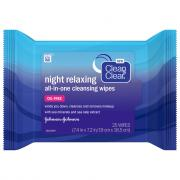 Clean & Clear Night Relaxing Cleansing Wipes