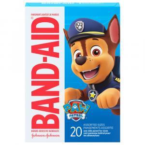 Band-Aid Paw Patrol Bandages