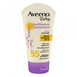 Aveeno Baby Continuous Protection Lotion Spf 55