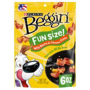 Purina Beggin Littles Bacon and Cheese Strips