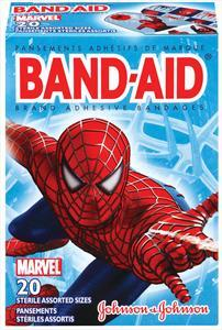 Band-aid Spiderman Assorted Bandages