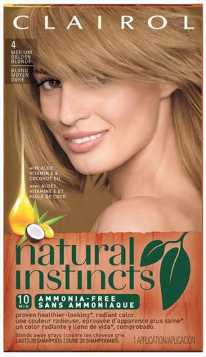 Clairol Natural Instincts Sunflower Hair Color