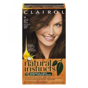 Clairol Natural Instincts #24 Clove Hair Color Kit