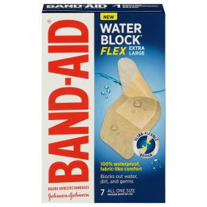 Band-Aid Water Block Flex Extra Large