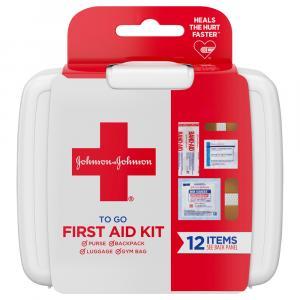 Johnson & Johnson Mini To Go First Aid
