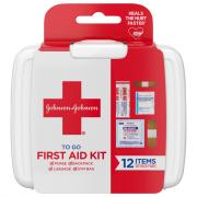 Johnson & Johnson Mini To Go First Aid