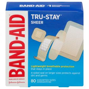 Band-Aid Comfort Sheer Assorted Bandages