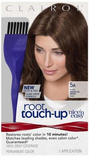 Nice'n Easy #005a Medium Ash Brown Root Touch-up Kit