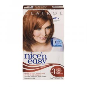 Nice'n Easy #110 Natural Light Auburn Hair Color Kit