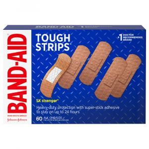Band-Aid Tough Strips One Size