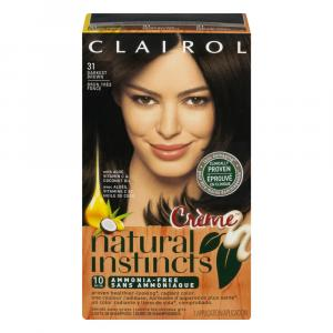 Clairol Natural Instincts #31g Darkest Brown Hair Color Kit