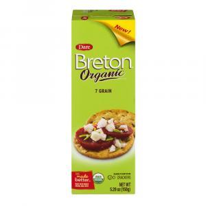 Dare Breton Organic 7 Grain Crackers