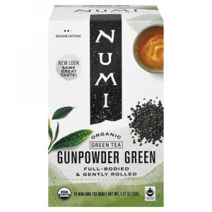 Numi Organic Gunpower Green Tea
