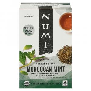 Numi Organic Moroccan Mint Tea Bags