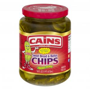 Cains Bread & Butter Pickle Chips