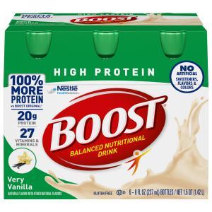 Boost High Protein Vanilla Nutrition Drink