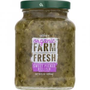 Gedney Farm Fresh Organic Sweet Relish