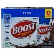 Boost Plus Gluten Free Rich Chocolate Beverage