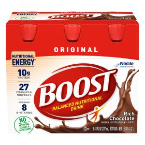 Boost Regular Chocolate Nutrition Drink