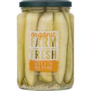 Gedney Farm Fresh Organic Kosher Dill Spears