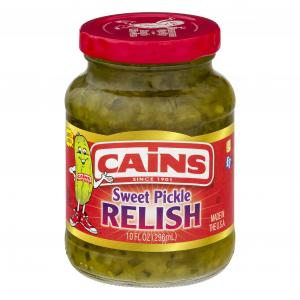 Cains Sweet Pickle Relish